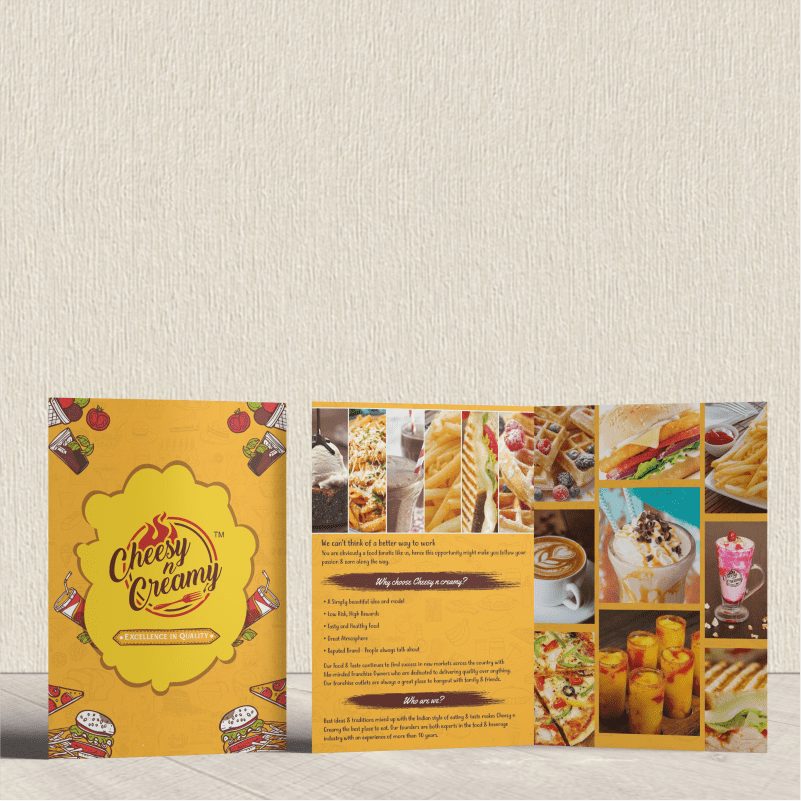 Brochure Printers in Ahmedabad, Gujarat, India - Brochure Mockup 2